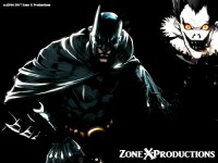 Bat Man v.s. Death Note Anime